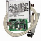4in1-ATMEL AVR ISP programmer,+5V electricaly isolated PWR supply,USB to UART