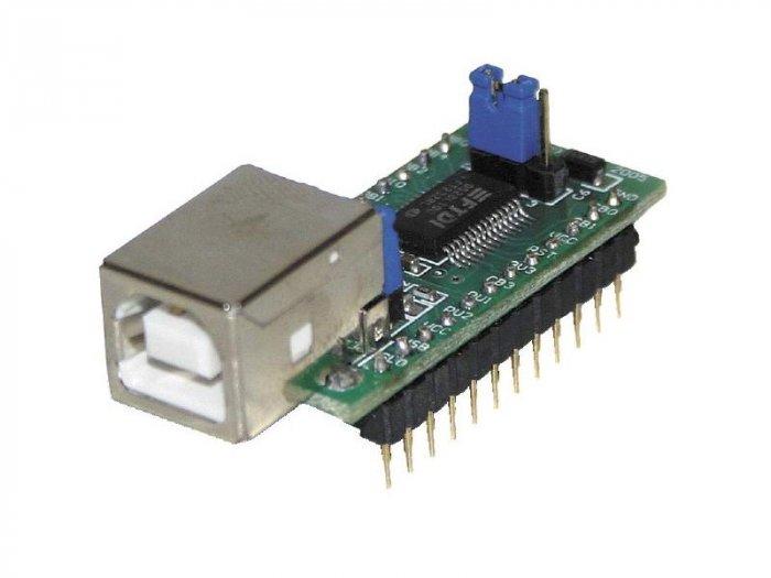 UM232R USB to serial UART converter-FTDI FT232RL modul AVR PIC ARM ARM7 ARM9