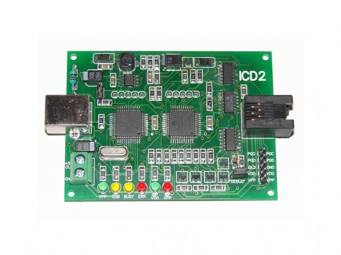ICD2 ICD 2 USB DEBUGGER PROGRAMMER Microchip PIC MPLAB IDE