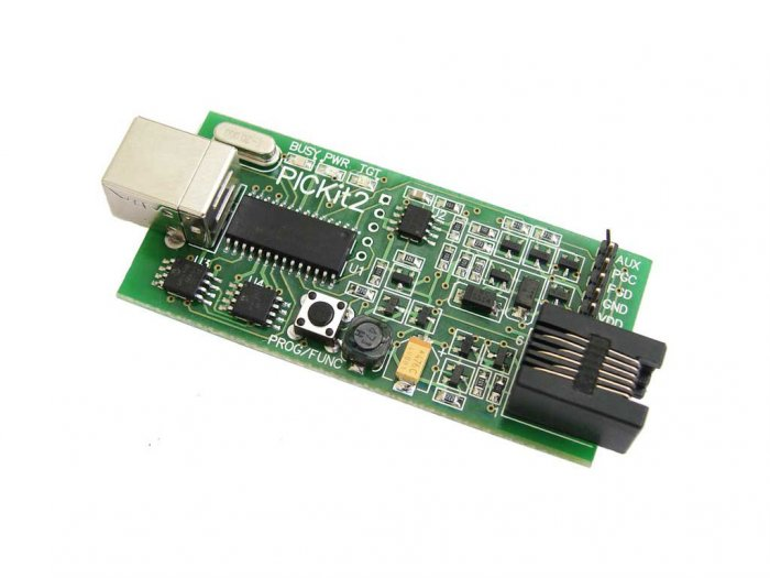 PICkit2 Full PICKit 2 USB microchip PIC programmer/debugger. Better than ICD 2.