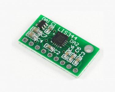 LIS344ALH analog accelerometer module ±2g/±6g