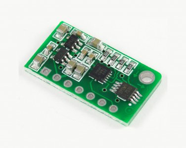 MMA7660FC accelerometer module with level-shift circuit