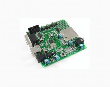 AT90USB162 ATMEL AVR board ISP USB joystick audio SD card RS232 LEDs AT90USB