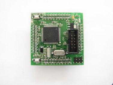 Xmega ATMEL ATXmega128A1-HB header board with JTAG, PDI