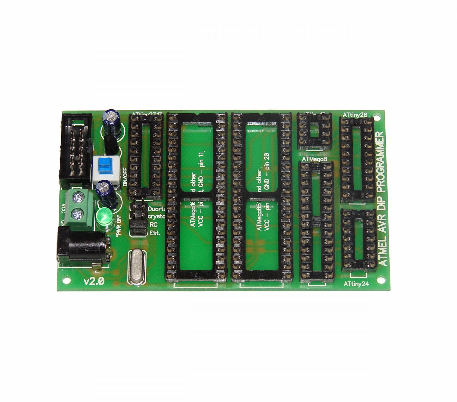 ATMEL extension DIP board for AVR ISP AVRISP programmer