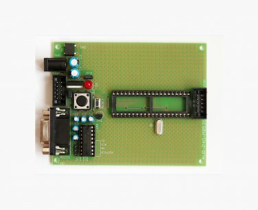 ATMEL AVR PROTOTYPE BOARD ATMega8535 with components