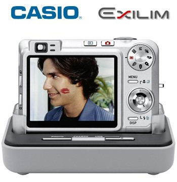 CASIO 7.1MP DIGITAL CAMERA WITH 3X OPTICAL ZOOM
