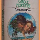 Forgotten Lover by Carole Mortimer Harlequin Presents 539