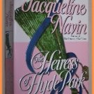 Heiress of Hyde Park by Jacqueline Navin Second in Mayfair Bride Series