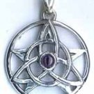 Druid Amulet with Amethyst