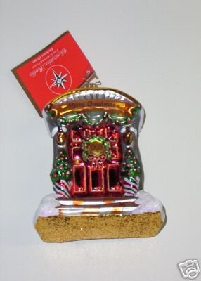 CHRISTOPHER RADKO 2007 HOME FRONT ORNAMENT