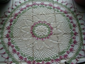 Crochet Pineapple Doily MUST SEE