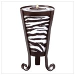Zebra Pattern Drum-shape candle