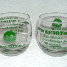 Set of 2 MIDORI MELON MELONBALL RECIPE 10 Oz GLASSES NEW