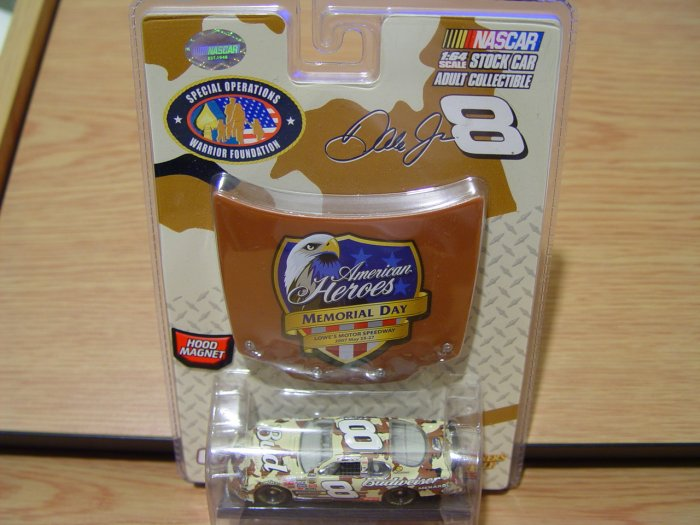 NASCAR DALE EARNHARDT JR 8 1:64 2007 Memorial Day
