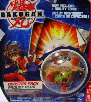 Bakugan Brown Tuskor Series 2 @Not in Production@ Very Rare