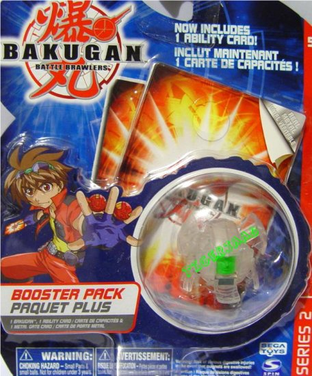 Bakugan Translucent Clear Manion Series 2 @Not in Production@ Very Rare