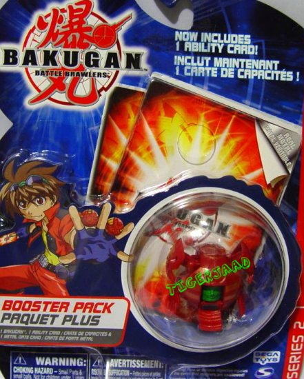 Bakugan Red Manion Series 2 @Not in Production@ Very Rare