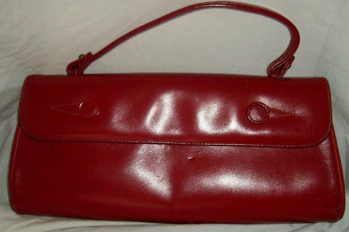 Vintage Red Ronay handbag purse