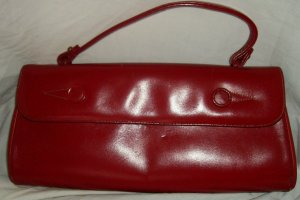 Vintage Red Ronay handbag purse