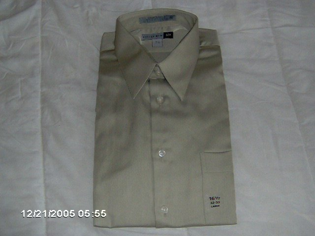 Savile Row men's dress shirt