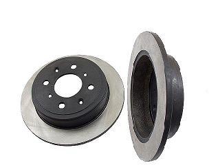2 Rear Brake Discs Rotors 1990-2001 Acura Integra