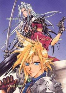 Final Fantasy 7 Shonen ai Doujinshi Sephiroth Vincent