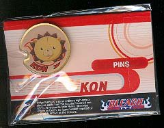Bleach Kon Enamel Pin