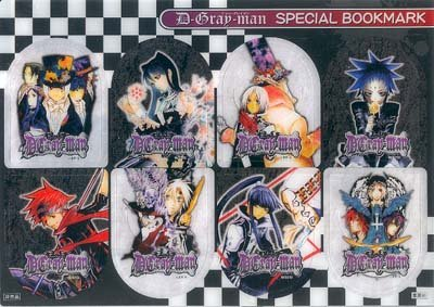 D. Gray Man Special Bookmarks