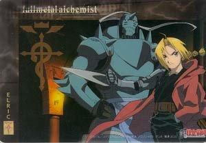 Fullmetal Alchemist Clear Postcard