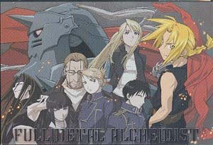 Fullmetal Alchemist Silver Foil Postcard