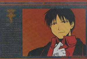 Fullmetal Alchemist Silver Foil Postcard: Roy