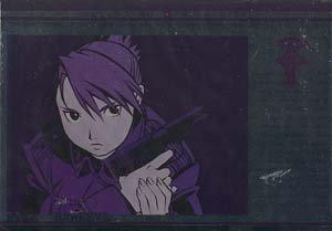 Fullmetal Alchemist Silver Foil Postcard: Hawkeye