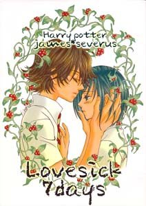 Harry Potter Shonen ai Doujinshi JamesXSnape