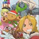 Fullmetal Alchemist Christmas Special Phone Card