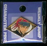 Bleach Character Pin by Weekly JUMP: Renji