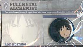Fullmetal Alchemist Button Pin: Roy