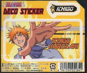 Bleach Deco Sticker: Ichigo