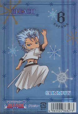 Bleach Deco Sticker: Grimmjow