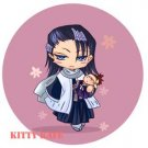 Pin Badge/Button Bleach: Byakuya (Angel)