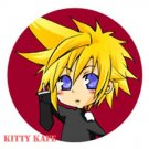 Pin Badge/Button Final Fantasy 7: Cloud (Sigure)