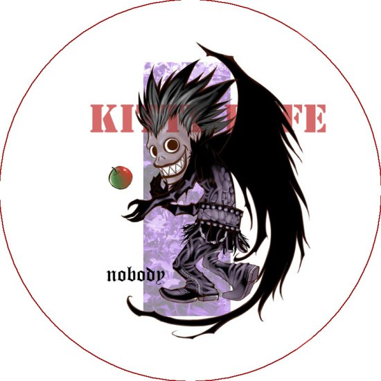 Pin Badge/Button Death Note: Ryuk