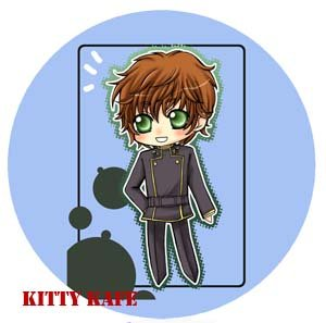 Pin Badge/Button Code Geass: Suzaku