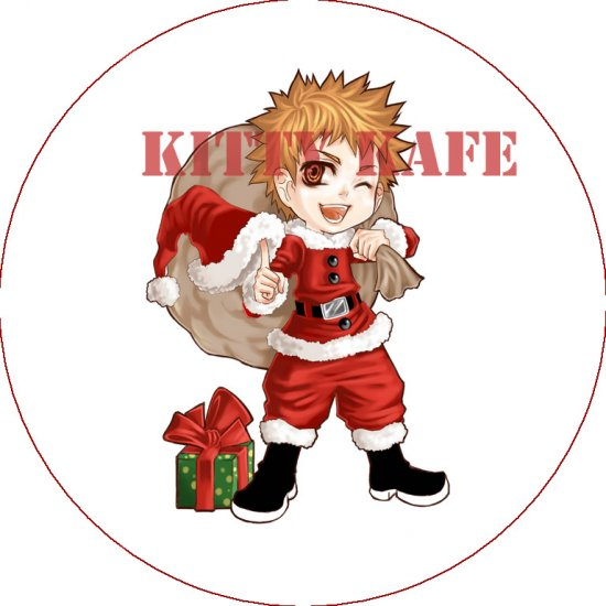 Pin Badge/Button Bleach: X-Mas Ichigo (Zen)