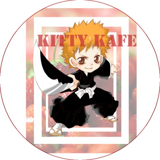 Pin Badge/Button Bleach: Ichigo (Zen)