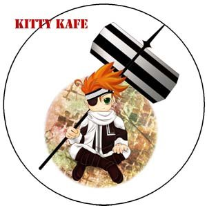 Pin Badge/Button D, Gray-man: Lavi (Yo)