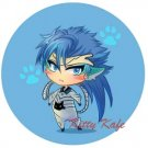 Pin Badge/Button Bleach: Grimmjow (Angel)