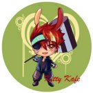 Pin Badge/Button D, Gray-man: Lavi (Angel)