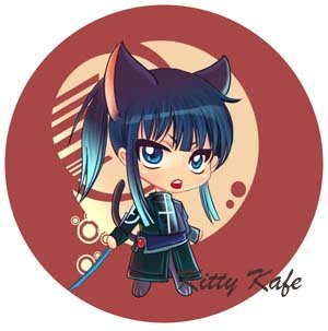 Pin Badge/Button D. Gray-man: Kanda (Angel)