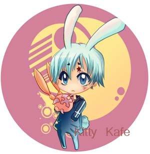 Pin Badge/Button D. Gray-man: Allen (Angel)